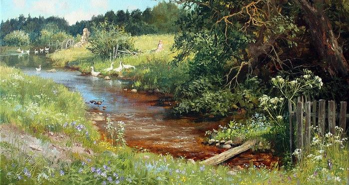 детям 1,5-2 пейзажи весенней природы в щелыково узкий круг знатоков