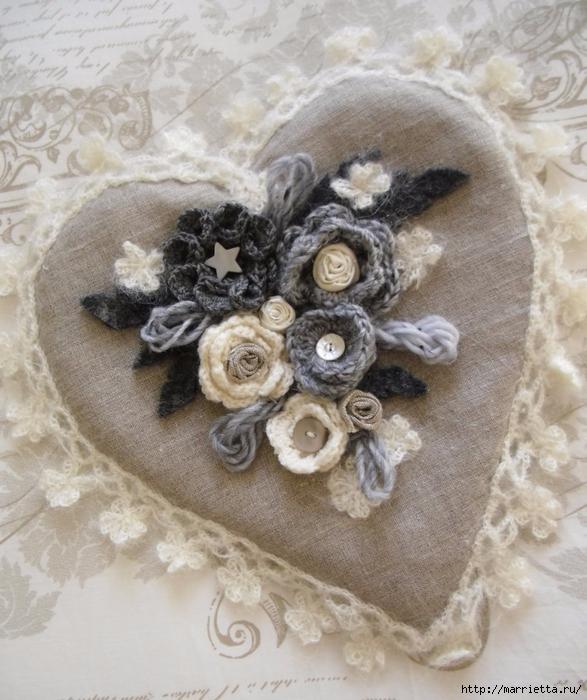 Вязание крючком сердечек (64) (587x700, 312Kb)