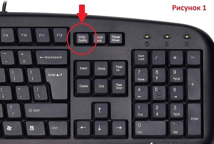 Как сохранить с клавиатуры