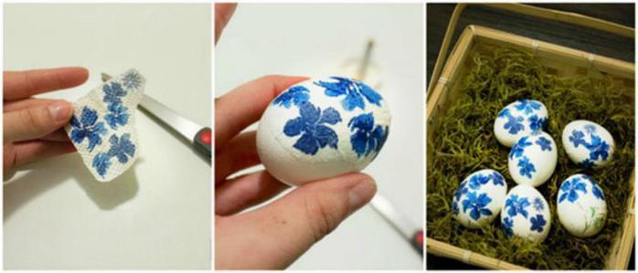 15 нетрадиционных способов украсить яйца