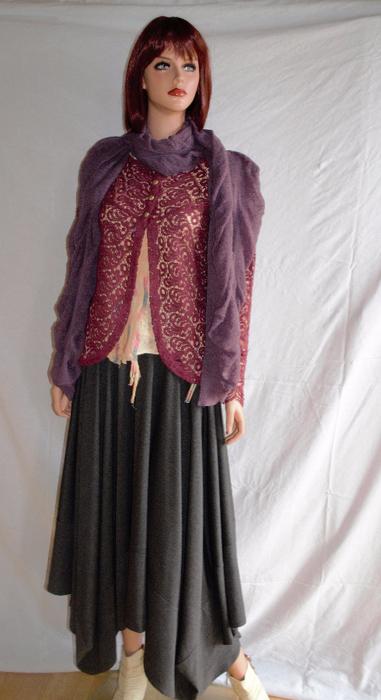 Креативные юбки для полных