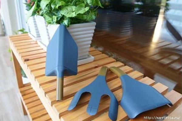 Садовые инструменты из пластиковых бутылок (6) (600x400, 155Kb)