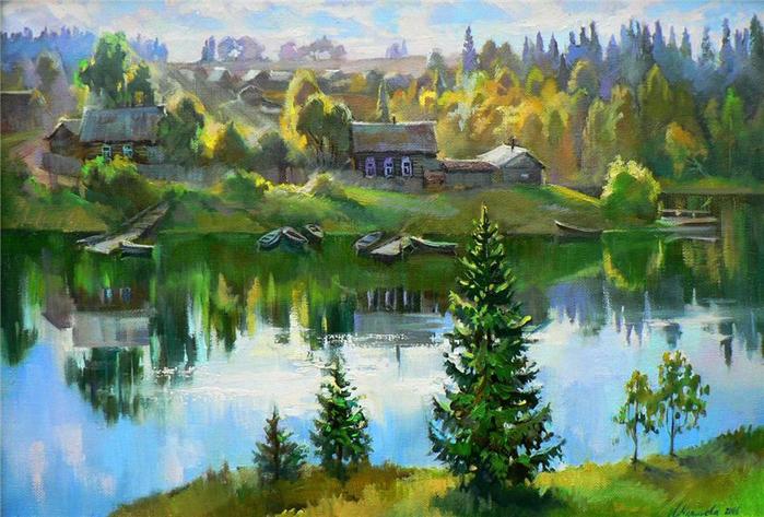 Русские художники рисующие мое