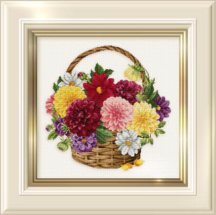 _129 Dahlia Basket (437x434, 179Kb)