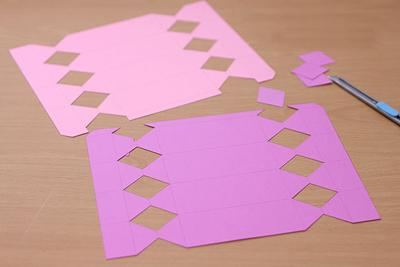 КОНФЕТЫ - подарочная упаковка из бумаги (3) (400x267, 86Kb)