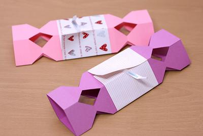 КОНФЕТЫ - подарочная упаковка из бумаги (5) (400x267, 102Kb)
