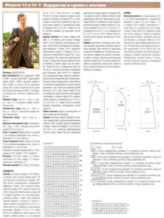Фасоны вязаных кардиганов спицами и схемы