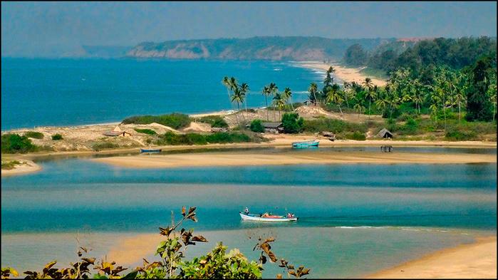 Дикий пляж Парадайз Бич. Реди форт. Штат Махараштра, Индия/3673959_10 (700x393, 155Kb)