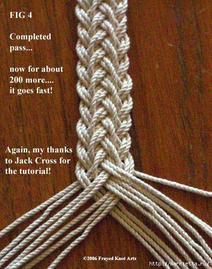 Плетение сложной косички (5) (425x540, 249Kb)