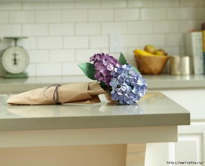 Цветы ГОРТЕНЗИИ из бумаги (1) (676x546, 133Kb)