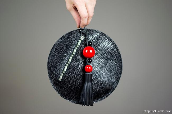 diy leather round clutch by www.fashionrolla.com-20(650x432, 165Kb)