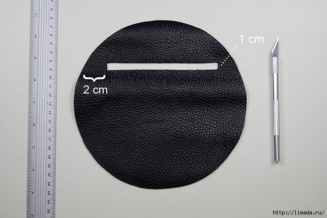 diy leather round clutch bywww.fashionrolla.com-5 (650x433, 200Kb)