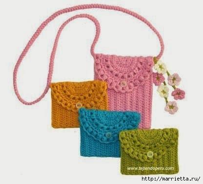 Вязание маленькой сумочки