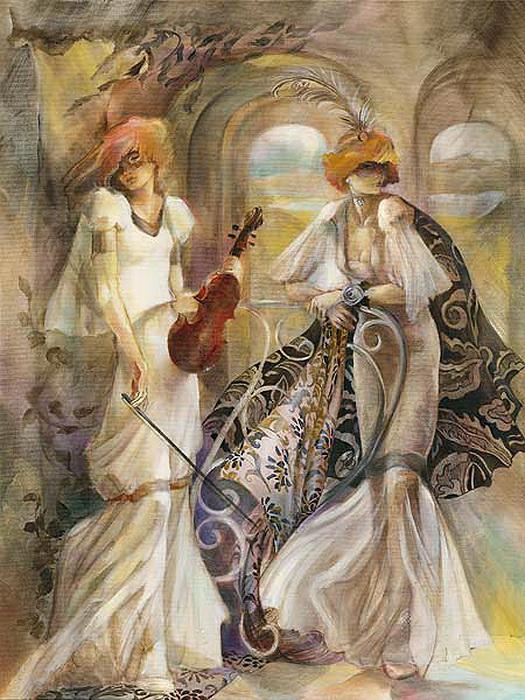Картины Лены Сотсковой покупаются в избранные частные коллекции.