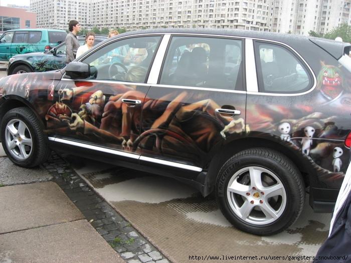 картинки аниме машины: