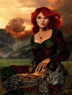 ЦЕЛИТЕЛЬНИЦА РОДОМ ИЗ ДРЕВНОСТИ Прабабушки современных кошек появились на земле еще 65 миллионов лет тому назад...
