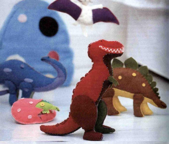 Динозавры вот такие: