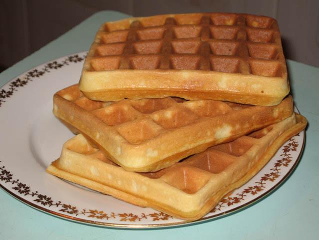 Вафли мягкие в вафельнице рецепт с фото пошагово