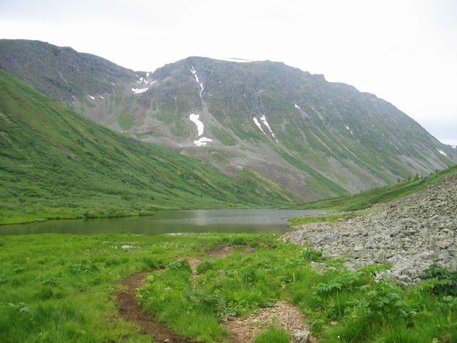 Долина реки изиг-суг