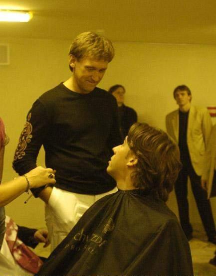 дроботенко и галкин фото в ванной