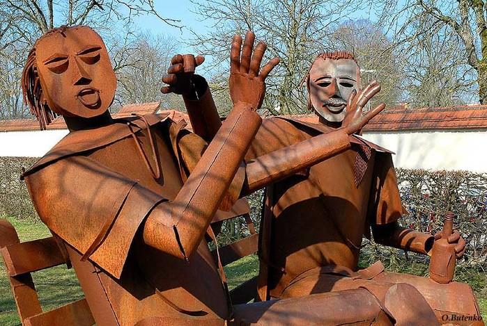 Интересная монументальная скульптура - Страница 2 32540331_Germaniya_Burghauzen_YA_ne_pyu