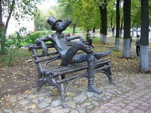 Интересная монументальная скульптура - Страница 2 32540639_Izhevsk_pamyatnik_Krokodilu