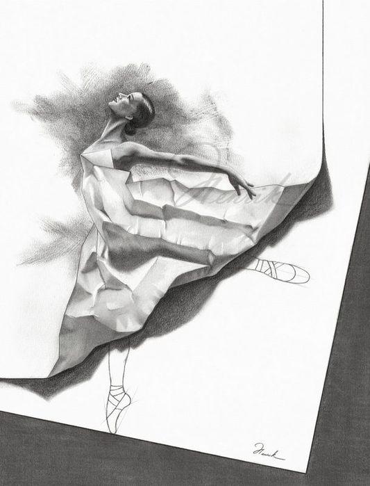 Искусство рисовать карандашом…