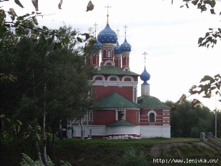 Угличский Кремль, церковь царевича Димитрия на Крови (1692) Ленивка-Тур 991-57-25
