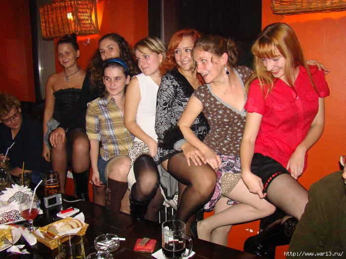 фото вечеринки в чулках