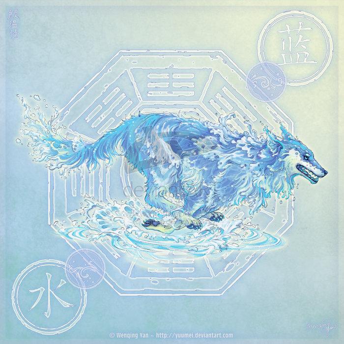 Водяная волчица может доставать воду