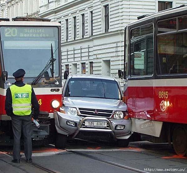 Авария, ДТП с участием трамвая