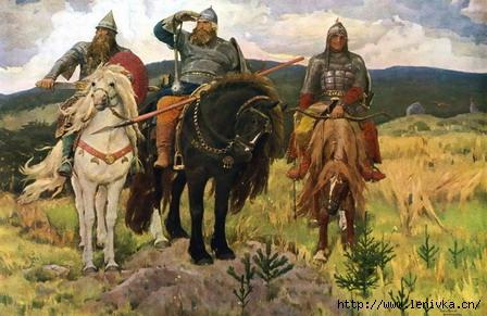 Три Богатыря Экскурсия в музей В.М.Васнецова 991-57-25