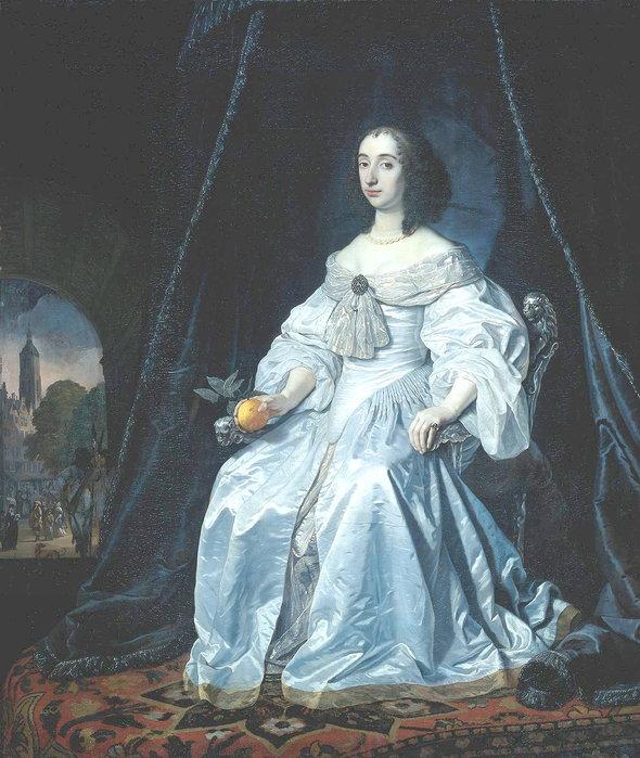 Строение женского платья 19 века