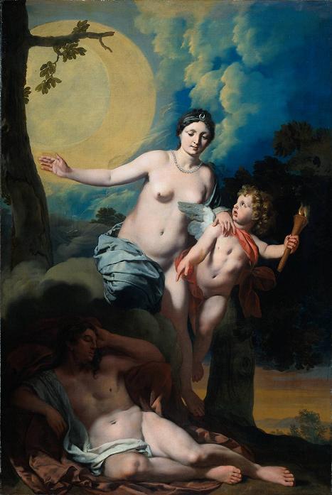 Жерар Де Лайресс Селена и Эндименон 1680 сс (467x697, 43Kb)
