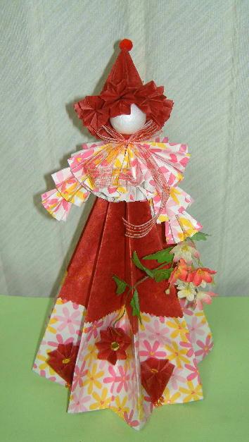 Поделки куклы с оригами 190