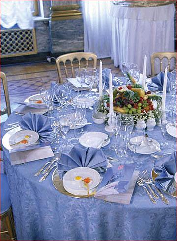 Сервировка стола в домашних 72