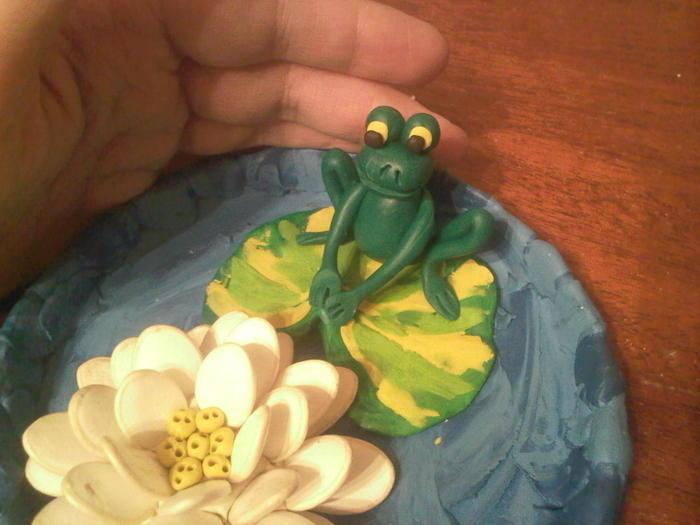Царевна лягушка мастер класс