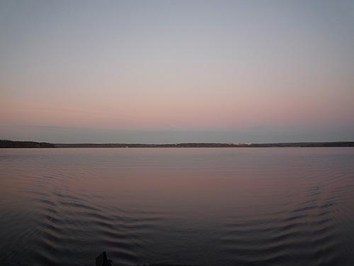 Тихий осенний закат