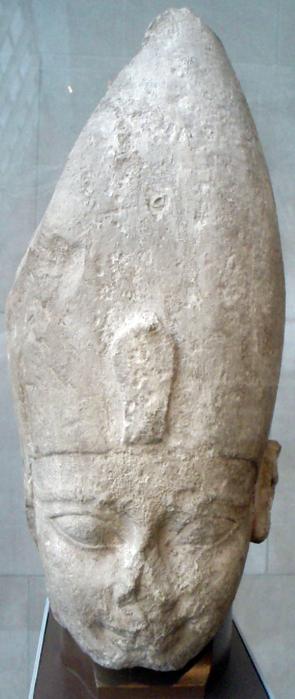 Фрагмент статуи Яхмоса I (295x699, 1058Kb)