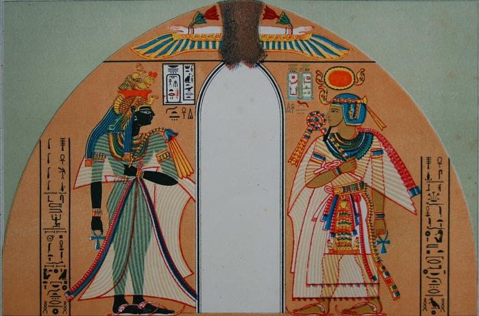 Аменхотеп I с женой (699x461, 194Kb)