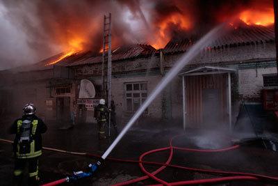 пожар Каширский двор