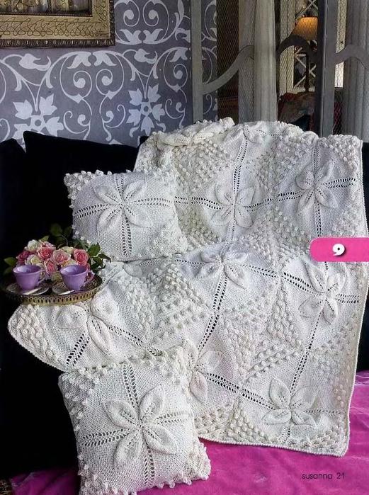 knitting baby blanket