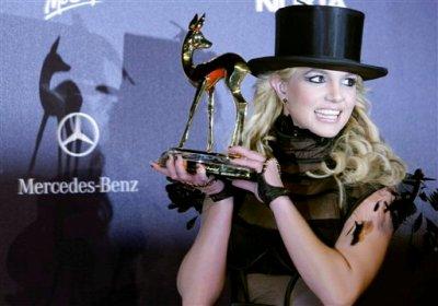 Bambi Awards, Бритни Спирс