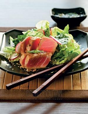 Cosmopolitan - Теплый салат с тунцом, иллюстрация 1