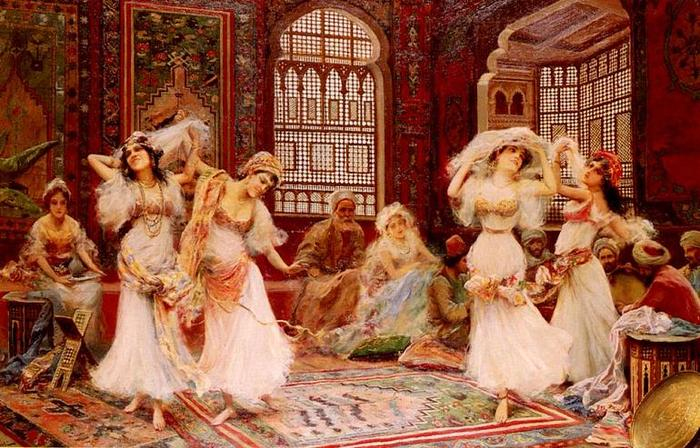 Фаббио Фабби Танцовщицы гарема