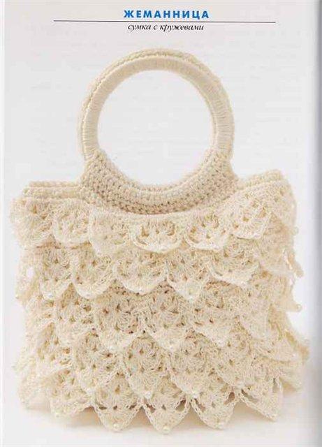 Схемы вязания сумочек