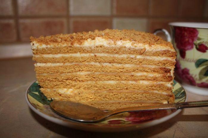 Как сделать простой торт быстро