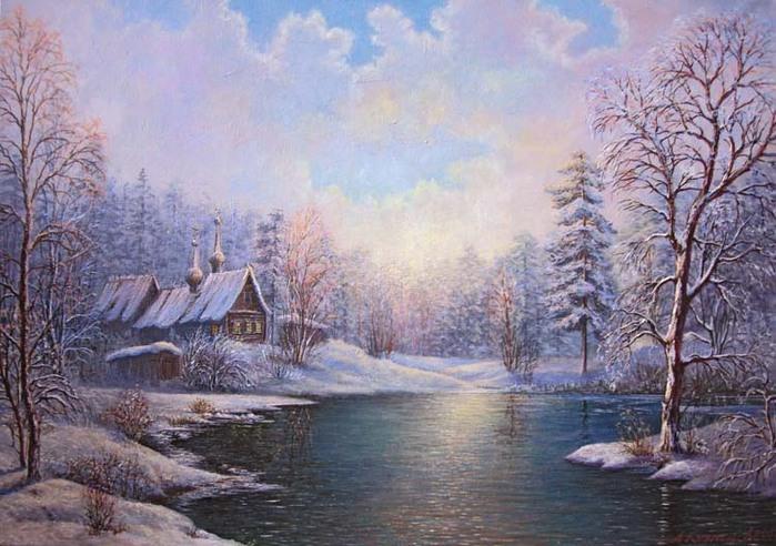 Зимние пейзажи.