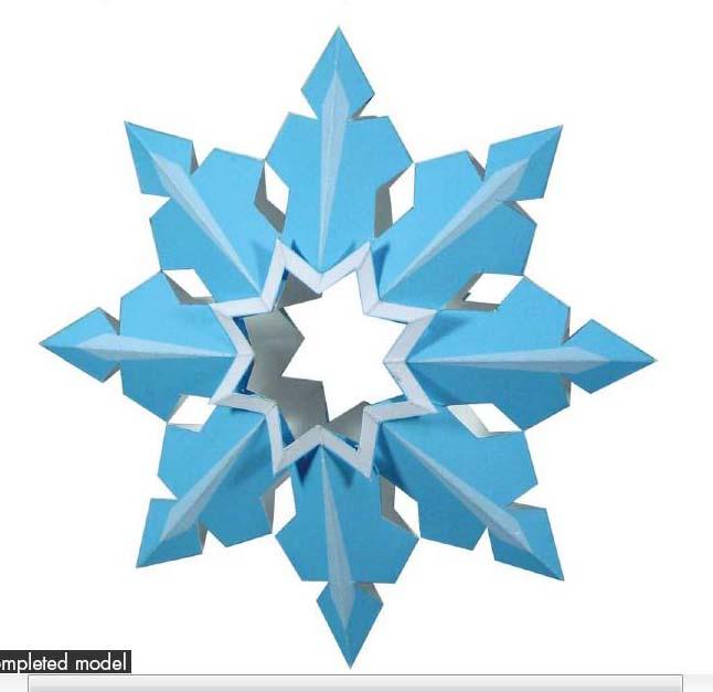 Как сделать снежинку звездочку