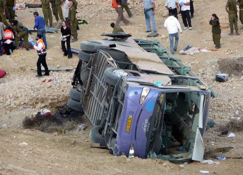Из-за лихачества израильского водителя погибли россияне